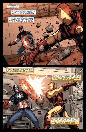 Civil War- Casualties of War - Iron Man-Captain America-010