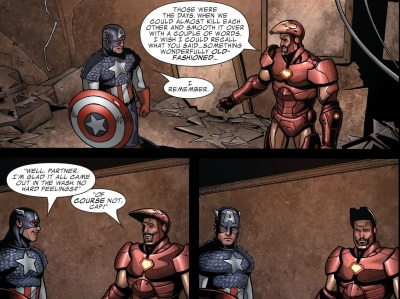Civil War- Casualties of War - Iron Man-Captain America-011