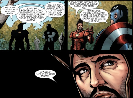 Civil War- Casualties of War - Iron Man-Captain America-015