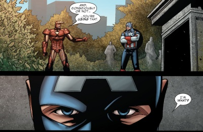 Civil War- Casualties of War - Iron Man-Captain America-021